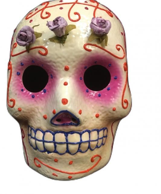 Day of The Dead Sugar Candy Skull Mask Cosplay